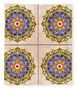 Islamic Tiles 03 Fleece Blanket