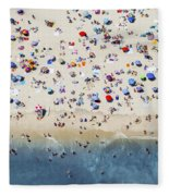 Island Beach State Park Fleece Blanket