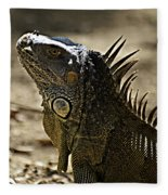 Island Lizards Three Fleece Blanket