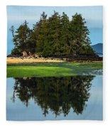 Island Reflection Fleece Blanket