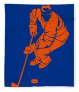 Islanders Shadow Player3 Fleece Blanket