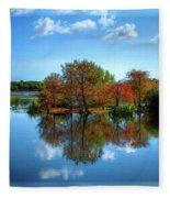 Islands In The Sun Fleece Blanket