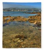 Isle Au Haut Beach Fleece Blanket