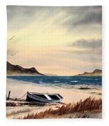 Isle Of Mull Scotland Fleece Blanket