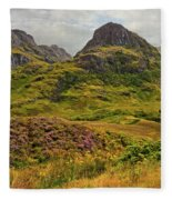Isle Of Skye Fleece Blanket