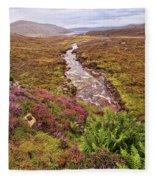 Isle Of Skye Scotland Fleece Blanket