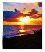 Isle Sol Chica  Fleece Blanket