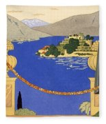 Isola Bella Fleece Blanket