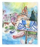Isola Maggiore In Italy 01 Fleece Blanket