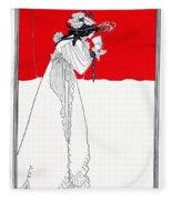Isolde 1899 Fleece Blanket