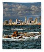 Israel Full Power Fleece Blanket