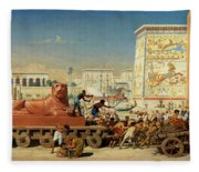 Israel In Egypt, 1867 Fleece Blanket