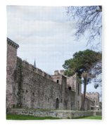 Istanbul City Wall 03 Fleece Blanket