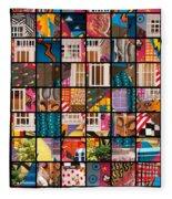 Istanbul Colour 10 Fleece Blanket
