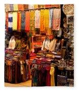 Istanbul Grand Bazaar 08 Fleece Blanket
