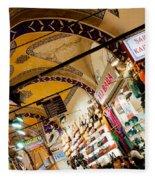 Istanbul Grand Bazaar 11 Fleece Blanket