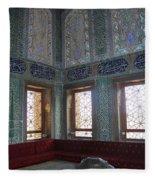 Istanbul Topkapi 3 Fleece Blanket