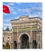 Istanbul University 02 Fleece Blanket