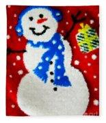 It Is Christmas Time Fleece Blanket
