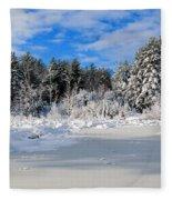 It Snow Reason Fleece Blanket