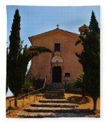Italian Chapel Fleece Blanket
