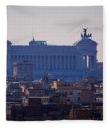 Italian Democracy Fleece Blanket
