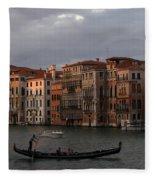 Italian Evening Fleece Blanket