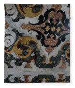 Italian Marble Marvels Fleece Blanket