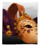 Italian Masquerade Fleece Blanket