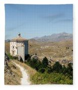 In That Quiet Earth - An Italian Landscape  Fleece Blanket