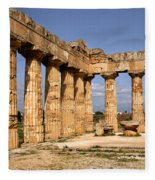 Italian Ruins 2 Fleece Blanket