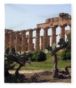 Italian Ruins Fleece Blanket
