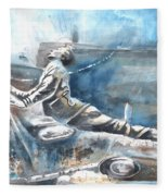 Italian Sculptures 04 Fleece Blanket