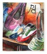 Italian Shoes 01 Fleece Blanket
