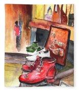 Italian Shoes 05 Fleece Blanket
