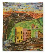 Italian Village Fleece Blanket