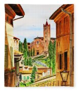 Italy Siena Fleece Blanket