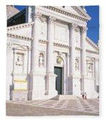 Italy, Venice, San Giorgio Fleece Blanket