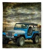It's A Jeep Thing Fleece Blanket