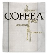 It's Coffee Time Fleece Blanket