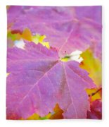 It's Fall Fleece Blanket