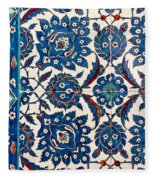 Iznik 12 Fleece Blanket