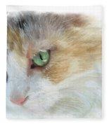 Izzy's Eyes Fleece Blanket