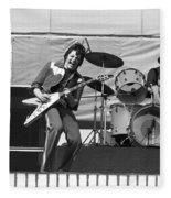 J. Geils On Stage In Oakland 1976 Fleece Blanket
