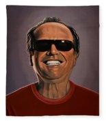 Jack Nicholson 2 Fleece Blanket