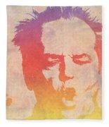 Jack Nicholson Fleece Blanket