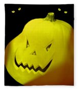 Jack-o-lantern Fleece Blanket