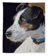 Jack Russell Terrier Fleece Blanket