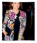 Jackie Kennedy Onassis 1990 Fleece Blanket
