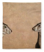 Jackrabbits Fleece Blanket